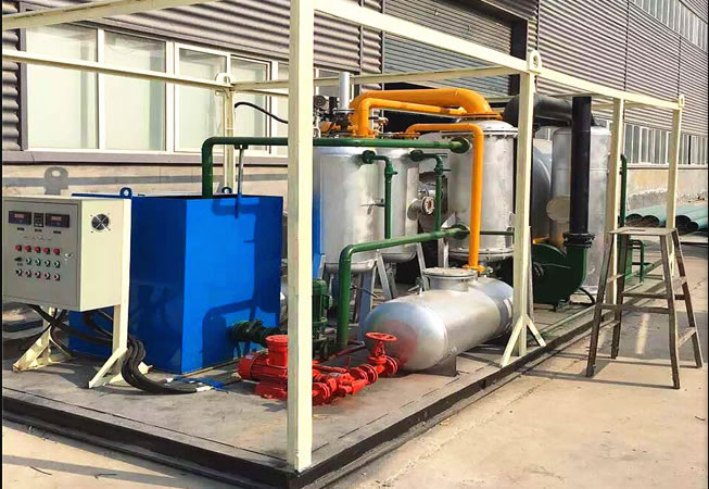 1-3 tons small pyrolysis machine for waste tires waste plastics to oil