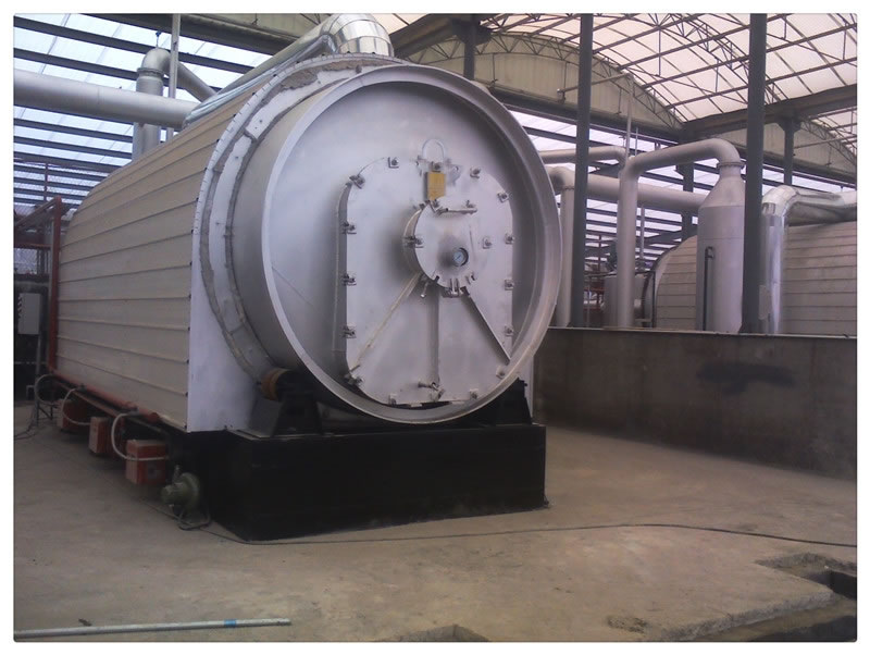 15-20T Pyrolysis plant for Egypt Project