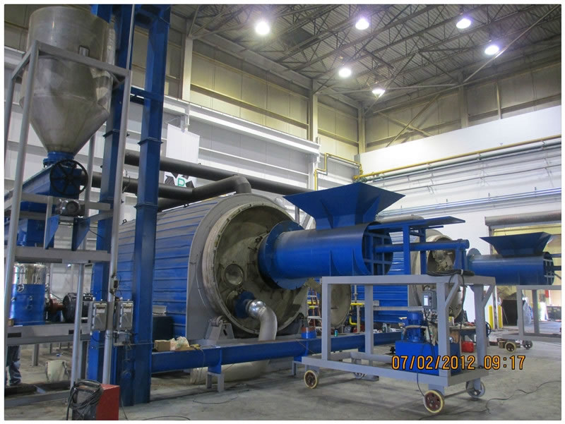 8-10T Pyrolysis plant for Italy Project