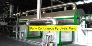 Fully Continuous Pyrolysis Plant