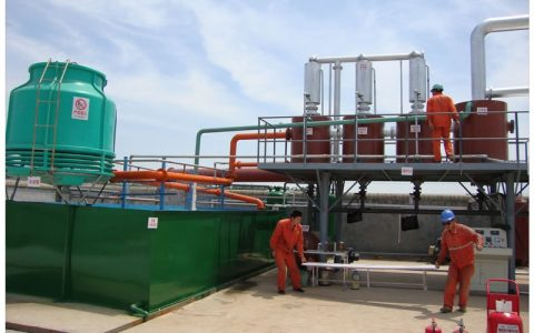 Waste tires to oil pyrolysis plant for Korea Project